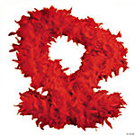Red Chandelle Boa