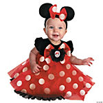 Red Minnie Mouse Baby Girl's Costume