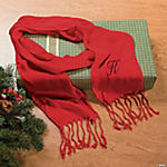 Red Personalized Scarf