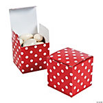 Red Polka Dot Gift Boxes