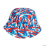 Red, White & Blue Camo Bucket Hats