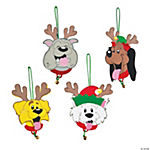 Reindeer Dogs Ornament Craft Kit