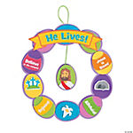 Religious Easter Egg Wreath Craft Kit