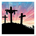 Resurrection Preprinted Backdrop Banner