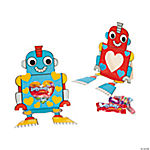 Robot Paper Valentines Craft Kit