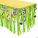 Safari Table Skirt with Cutouts