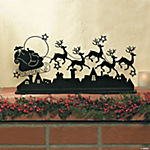 Santa & Reindeer Tabletopper