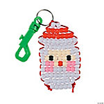 Santa Pony Bead Clip Craft Kit