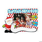 Santa's Nice List Picture Frame Magnet Craft Kit