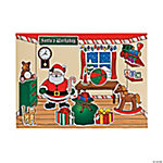 Santa's Workshop Sticker Scenes