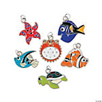 Sea Life Enamel Charms