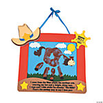 Self-Adhesive Ranch Handprint Keepsake Craft Kit