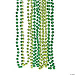 Shades of Green Beaded Necklaces