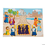 Shadrach, Meshach & Abednego Mini Sticker Scenes