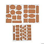Shaped Cork Stickers