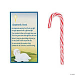 Shepherd's Hook Candy Canes with Card