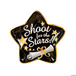 Shoot For the Stars Star-Shaped Paper Plates