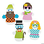 Silly Snowman Magnet Christmas Craft Kit