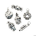 Silvertone Sweet Treat Charms