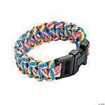 Small Rainbow Paracord Bracelets