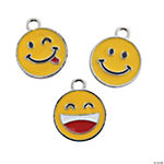 Smile Face Charms - 18mm