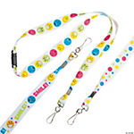 Smile Face Lanyards