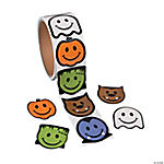 Smile Face Monster Stickers