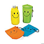 Smile Face Water Bottle Covers