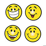 Smiley Face Bulletin Board Cutouts