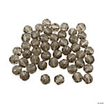 Smokey Quartz Round Crystal Beads - 8mm