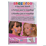 Snazaroo Face Paint Stencils Girl Adv