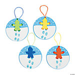 Snow Day Thumbprint Ornament Craft Kit