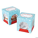 Snow Globe Cookie Boxes