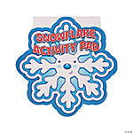 Snowflake Activity Pads