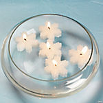 Snowflake Floating Candles