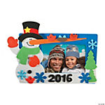 2015/2016 Snowman Picture Frame Magnet Craft Kit