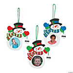 2015/2016 Snowman Picture Frame Ornament Craft Kit