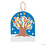 Snowy Tree Sign Craft Kit