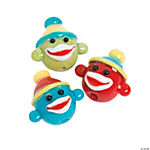 Sock Monkey Lampwork Beads - 16mm
