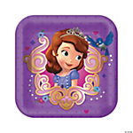 Sofia The First Dessert Plates
