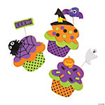 Spooky Cupcake Magnet Craft Kit
