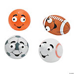 Sports Ball Pop-Out Eye Characters