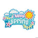 Spring Magnet Craft Kit
