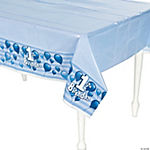 1st Birthday Blue Tablecloth