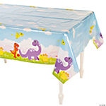 1st Birthday Dino Table Cover