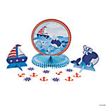 1st Birthday Sailor Tabletop Décor Kit