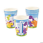 1st Dinosaur Birthday Cups
