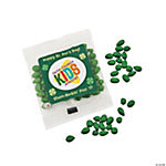 St. Patrick's Day Custom Photo Candy Sunflower Seed Packs