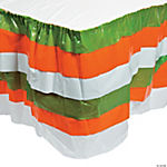 St. Patrick's Day Ruffle Table Skirt