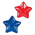 Star-Shaped Dessert Plates